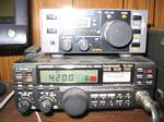 Elcraft K1 and Kenwood TR-751A