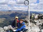 Nick (N5PRP) and Dawn Operate the 14er Event from Grays and Torreys Peaks! - August 14, 2005