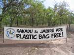 Kakadu and Jabiru are Plastic Bag Free! - November, 2005