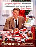 Ronald Reagan and Chesterfield Cigarettes