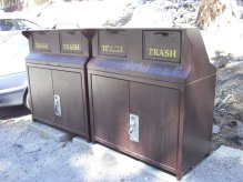 Mount Whitney Bear Proof Trash Container by Roger J. Wendell - 07-24-2012
