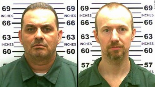 Murderers Richard Matt and David Sweat - 2015