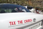 Tax the Church bumper sticker