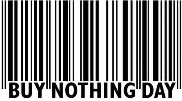 Buy Nothing Day Bar Code