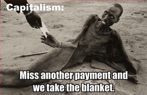 Miss Another Payment and We Take the Blanket