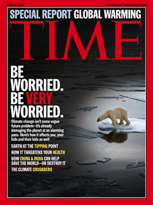 Time Magazine Climate Cover - April 3, 2006