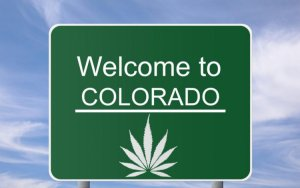 Colorado Marijuana Sign