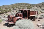 An old truck in Death Valley National Park by Roger J. Wendell - 06-08-2011