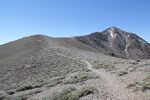Looking up the trail to Telescope Peak at Death Valley National Park by Roger J. Wendell - 06-07-2011