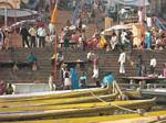 Ganges River at Varanasi, India, by Roger J. Wendell - December 4th & 5th, 2008