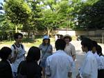 Japanese Students Loved Practing Their English With Us! - May, 2004