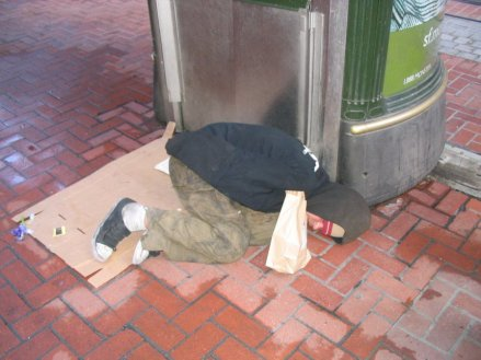 Homeless in San Francisco by Roger J. Wendell - 05-01-2005