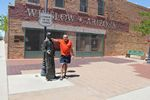 Standing on the Corner in Winslow Arizona - 04-30-2014
