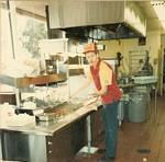 Larry Moreland at Pup 'N' Taco - 1980s
