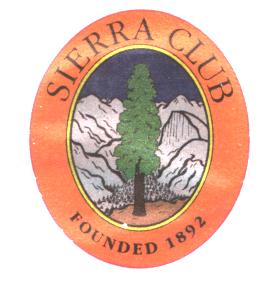 Sierra Club Temporary Tattoo