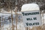 Trespassers Will Be Violated, Conifer, Colorado by Roger J. Wendell - 10-27-2011