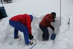 CMC AIARE Level 1 Avalanche Training at Berthoud Pass, Colorado - 01-21-2012