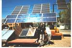 Roger J. Wendell at Solar Energy International - April, 2002