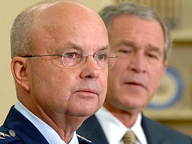 General Michael Hayden and President George Bush - 2007